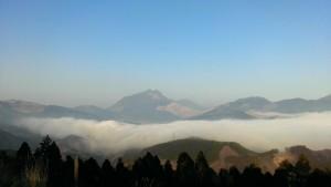 霧の水平線